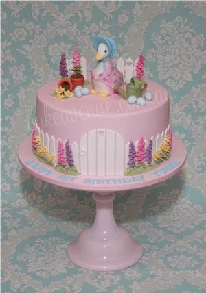 Jemima Puddle-Duck Cake - Cake by CakeAvenue