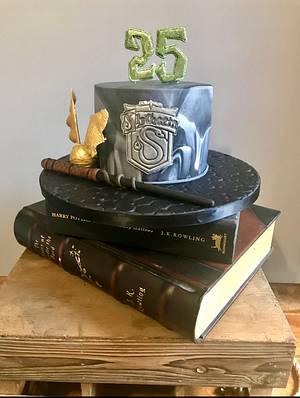 Team Slytherin  - Cake by The Noisy Cake Shop