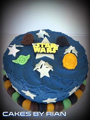 Star Wars Cake - Cake by Cakes By Rian