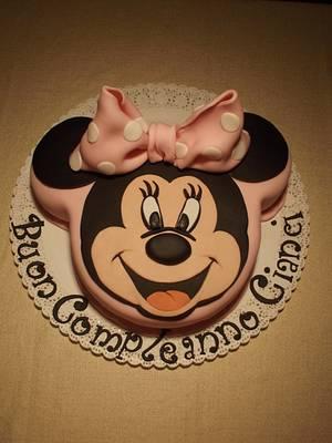 Minnie Mouse Cake - Cake by Francesca Liotta