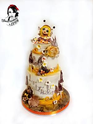 Little Butterfly Fairy cake - Cake by Ivon