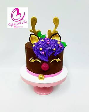 Sparkle bells - Cake by Bella Cakes