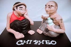 Chi Pheo - Nam Cao author - Vietnam - Cake by Hanghuynh