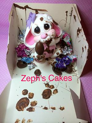 Lou-Lou The Bad Bunny  - Cake by Zeph