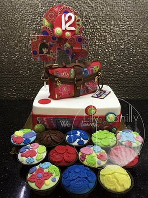 DESIGUAL Bag Cake - Cake by Lily Vanilly