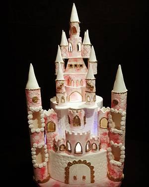 Castle Cake - Cake by MARCELA CORCA