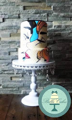 the kiss - Cake by Bella Cakes