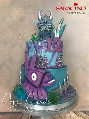 Fortnite Cake - Cake by Cake Garden
