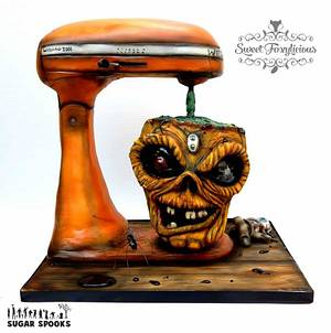 WitchAid Mixer Cake - SugarSpooks2015 - Cake by Sweet Foxylicious