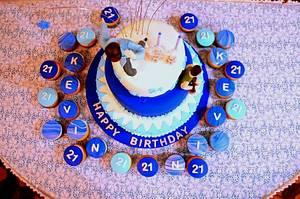 21st Birthday cake - Cake by Rakesh Menon