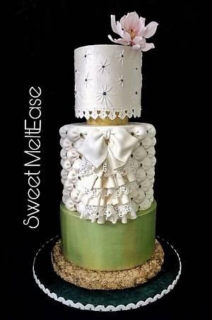 Traje de Mestiza - Cake by Mel Sibuyo Durant