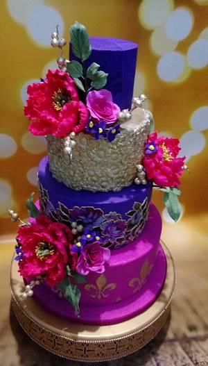 Wedding cake - Cake by Husna yunus