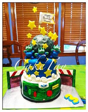 Toy Story - Cake by Angel Chang