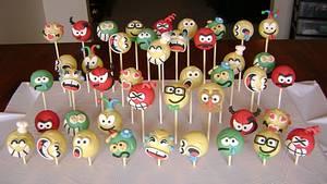 Back To Work Emoticon Cake Pops - Cake by virago