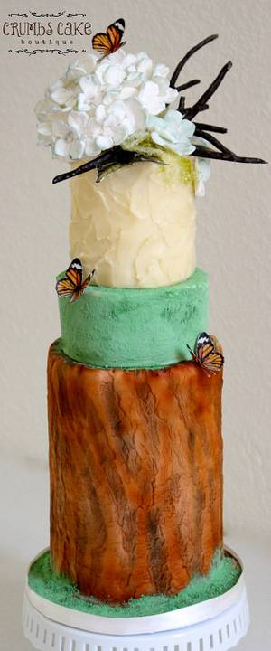 ACTS OF GREEN COLLABORATION-She is a Sacred Living Being - Cake by Crumbs Cake Boutique