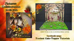 Sweet Autumn collaboration 2016 - Come to the meadows - Cake by Miky1983