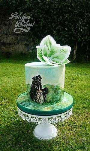 Our dogs for my daughter  - Cake by Sharon Fitzgerald @ Bitchin' Bakes