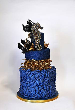 Steampunk seahorse - Cake by Delice