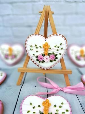 Flowers Angel - Cake by Oli Ivanova