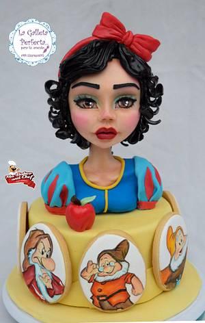 "Disney world Sugar collaboration ""SNOW WHITE"" - Cake by Sarahy Millán"