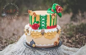 Steampunk Christmas - Cake by Heather Nicole Chitty