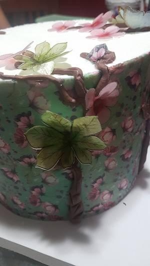Flores  - Cake by Ofelia Bulay