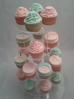 Baby shower cupcakes - Cake by Emma