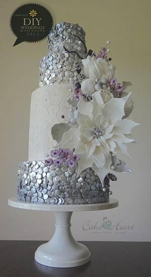 Winter Shimmer - Cake by Cake Heart
