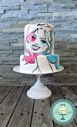 harley quinn - Cake by Bella Cakes