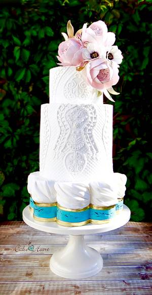 Brides Around the World Collaboration - Cake by Cake Heart