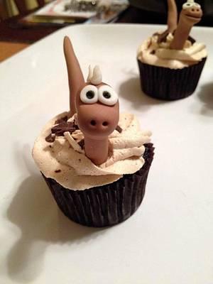 Dinosaur cupcakes are dino-mite! - Cake by Random Acts of Sweetness