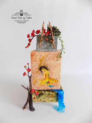 Be Shie - Sugar Myths & Fantasies 2.0 Collaboration  - Cake by Sweet Side of Cakes by Khamphet