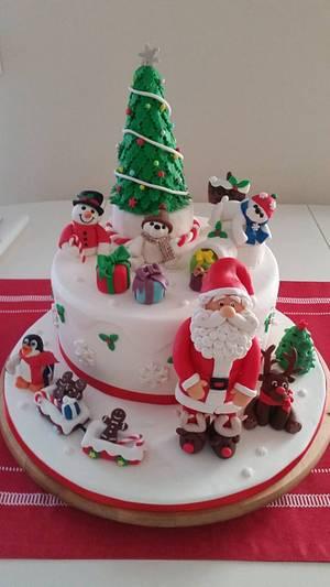 Ho Ho Ho - Cake by Mónica