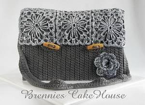 crochetted bohemian bag - Cake by Brenda Bakker