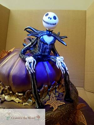 Halloween Jack - Cake by Crumb's the Word