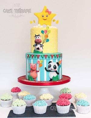 Cake for 2nd birthday. - Cake by Caketherapie