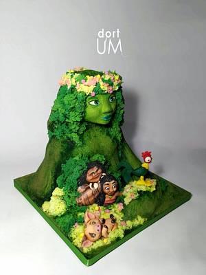 Moana cake - Cake by dortUM