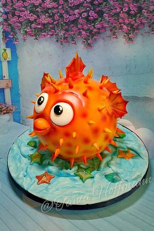 Puffer Fish - Cake by Grans Cakes