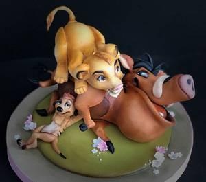 Hakuna Matata.. .🎼🎵🎵🎵🎶🎶🎶 - Cake by Cristina Sbuelz