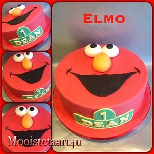 Elmo...! - Cake by Mooistetaart4u - Amanda Schreuder