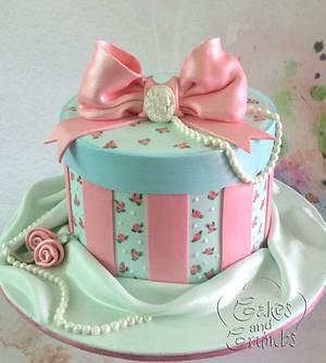 Hat box cake - Cake by Hima bindu