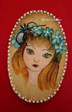 Spider girl - Cake by Anna Bonilla