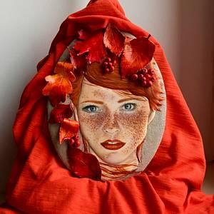 autumn girl - Cake by Anna Dziedzic