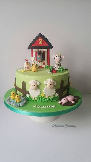 Barn animals!! - Cake by Bella's Cakes