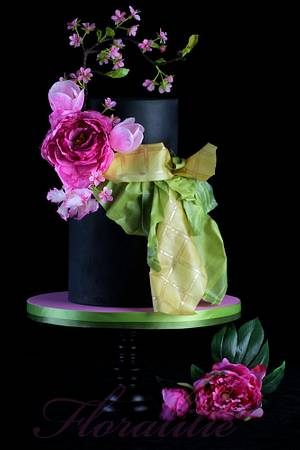 Japanese Spring - Cake by Floralilie