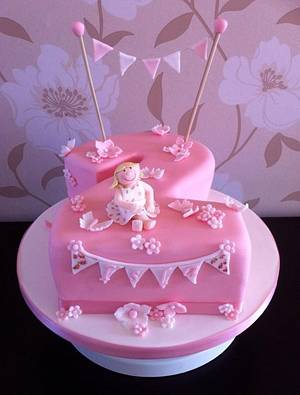 Pretty in Pink - Cake by Carrie