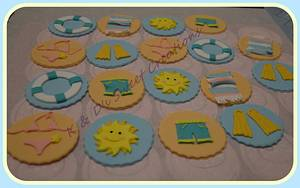 Summer party cupcakes - Cake by Konstantina - K & D's Sweet Creations