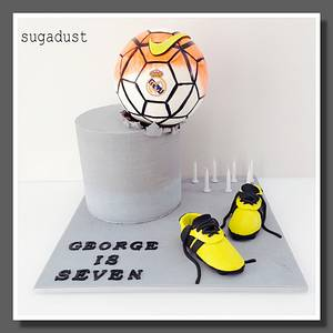 Real Madrid birthday cake - Cake by Mary @ SugaDust