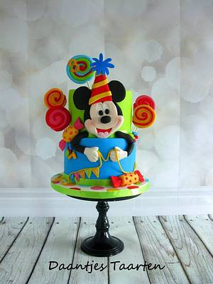 Mickey - Cake by Daantje