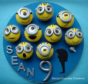 Despicable Me - Cake by DarcysCupcakes